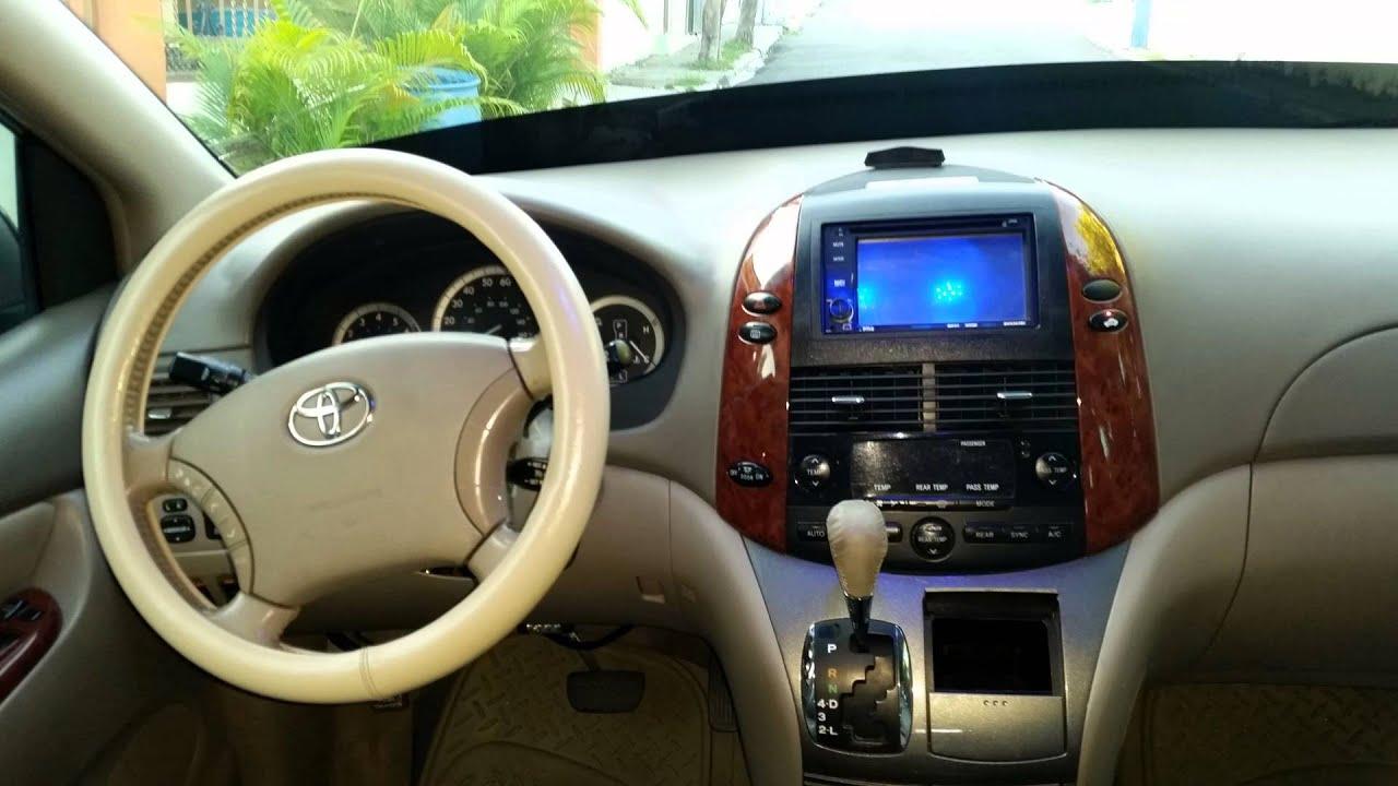 Toyota Sienna Xle 2005 Youtube