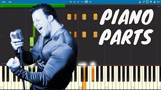 Billy Joel - Honesty - Piano Parts ONLY - Tutorial