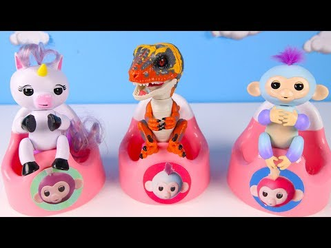 Don't Wake Granny the Dinosaur Fingerlings Toy Challenge - Ellie Sparkles