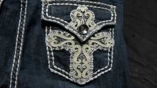 Watch Our Rhinestone Jeans Sparkle At Jobber1 Wholesale Clothing
