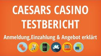 Caesars Casino Testbericht: Anmeldung & Einzahlung erklärt [4K]