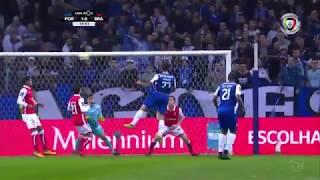 Golo de Sérgio Oliveira: FC Porto (1)-0 Braga (Liga 21ªJ)