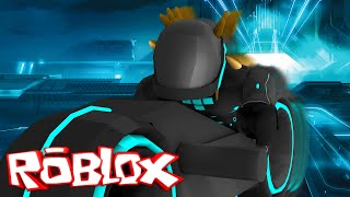 TRON BIKE RACING IN ROBLOX! (Roblox Tron Race)