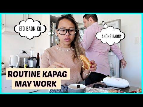ETO ANG BAON KO! GANITO KAMI KAPAG PAREHONG MAY WORK ❤️ | rhazevlogs