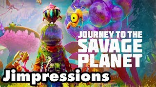Journey To The Savage Planet - I Want A Meat Buddy (Jimpressions) (Video Game Video Review)