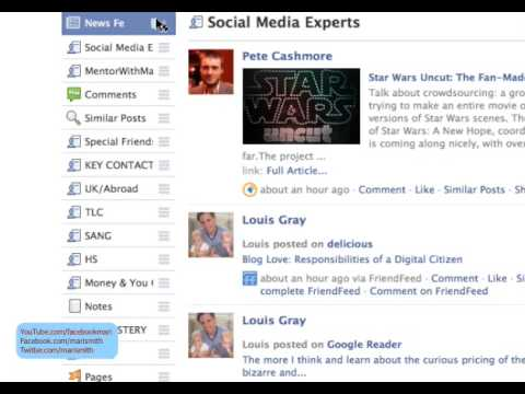 How To Re-order Your Facebook Friend Lists For Better News Feed Viewing