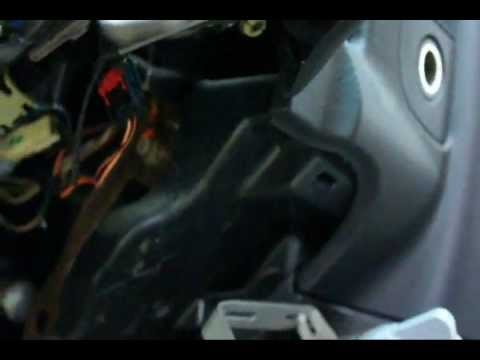 2003 Dodge Ram Intermittent A/C Blower Replace Ignition Switch - YouTube