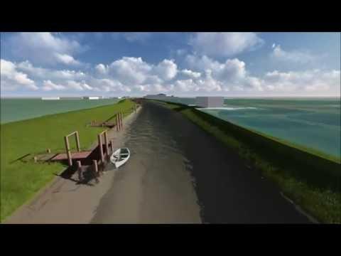 River Hull Sunken Vessel 3D fly-through