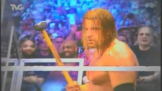 Triple H vs The Undertaker wrestlemania 28 promo (en español)