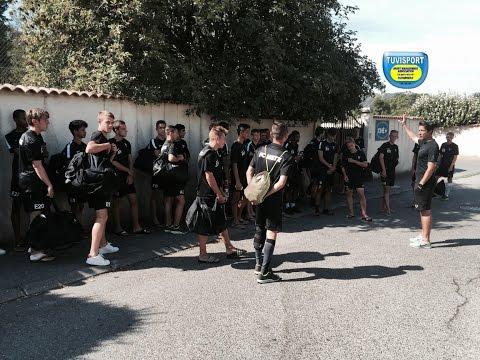 FC METZ U16 U17 STAGE ETE 2015 A MARSEILLE