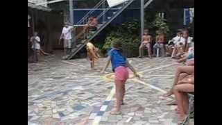 Спортивный лагерь Малый Маяк (Алина и Катя)