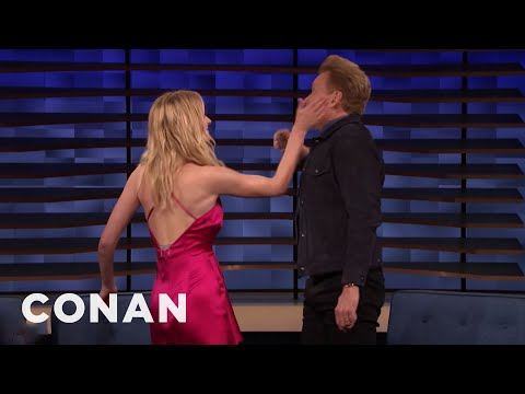 Sophie Turner & Conan Play Tequila Slaps - CONAN on TBS