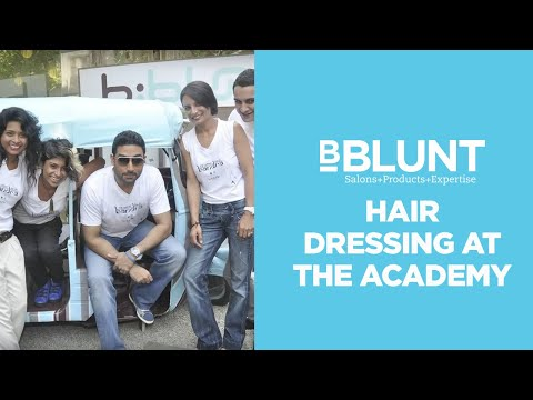 Training In Hair Dressing In India At The BBLUNT Academy
