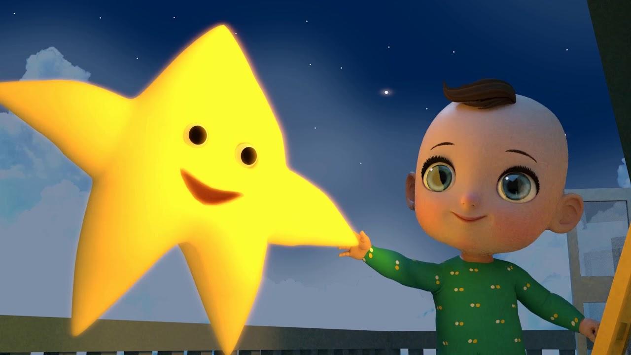 Twinkle Twinkle Little Star In Arabic اغنية النجمة أناشيد وأغاني النوم للأطفال Youtube
