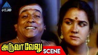 Anandaraj Tries to Take Down the Witness | Aruva Velu Tamil Movie Scenes | Nassar | Urvashi | Rajesh