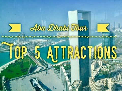 Abu Dhabi Tour Top 5 Must Visit Attractions by HourPhilippines.com