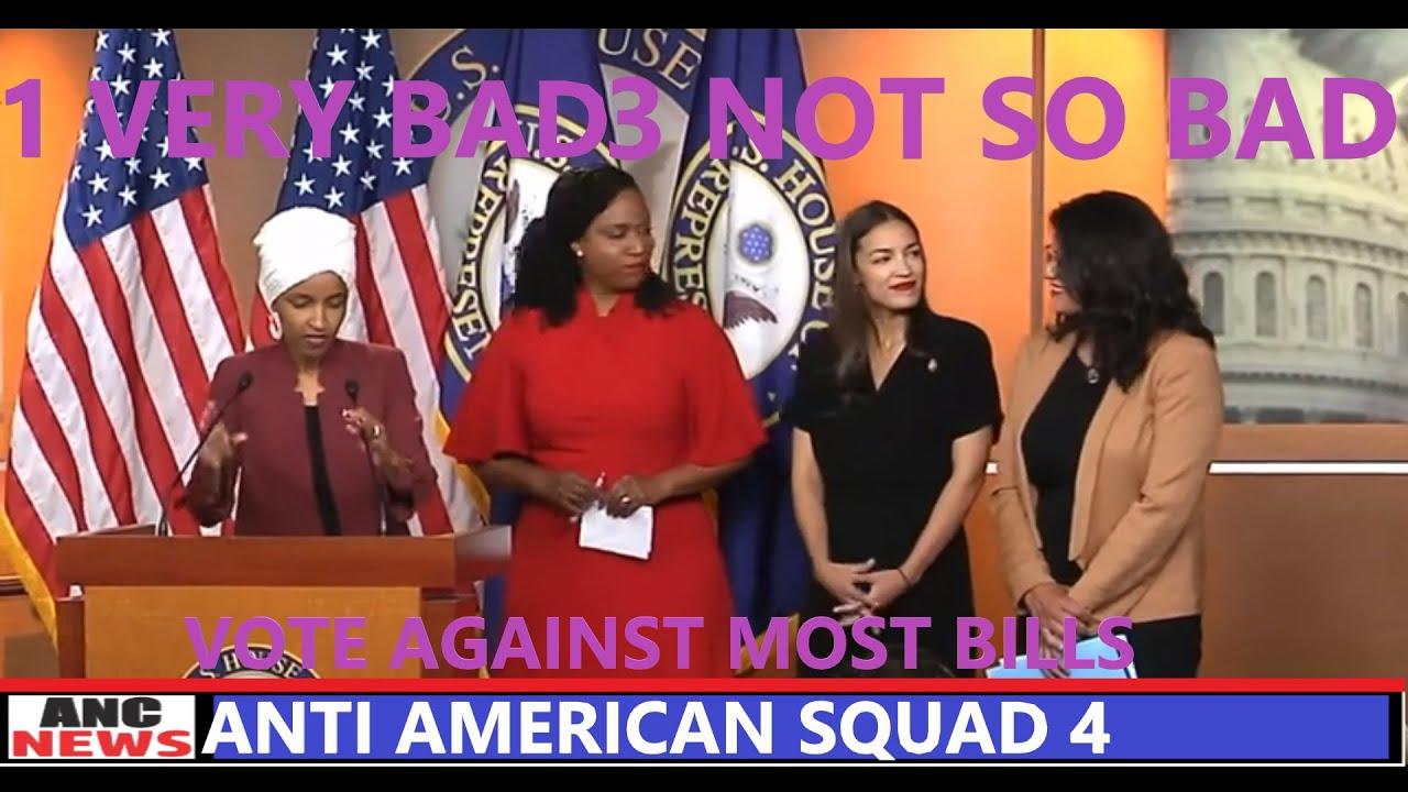 The Anti America Democrat Congress Labeled The Squad of 4