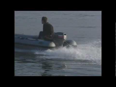 Фрегат. Испытания лодки Фрегат М-320 (октябрь 2004 г.)