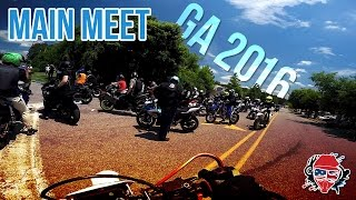 GA MOTO MEETUP - Main Meet! 600 BIKES! [Atlanta 2016]
