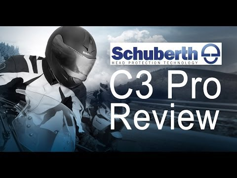 Schuberth C3 Pro Klapphelm - Test und Review - GoPro HD HERO 3+ - FUll HD 1080p - German