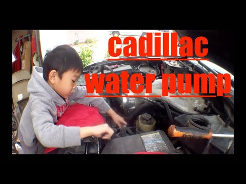 Detailed water pump Replacement Cadillac CTS √ Fix it Angel