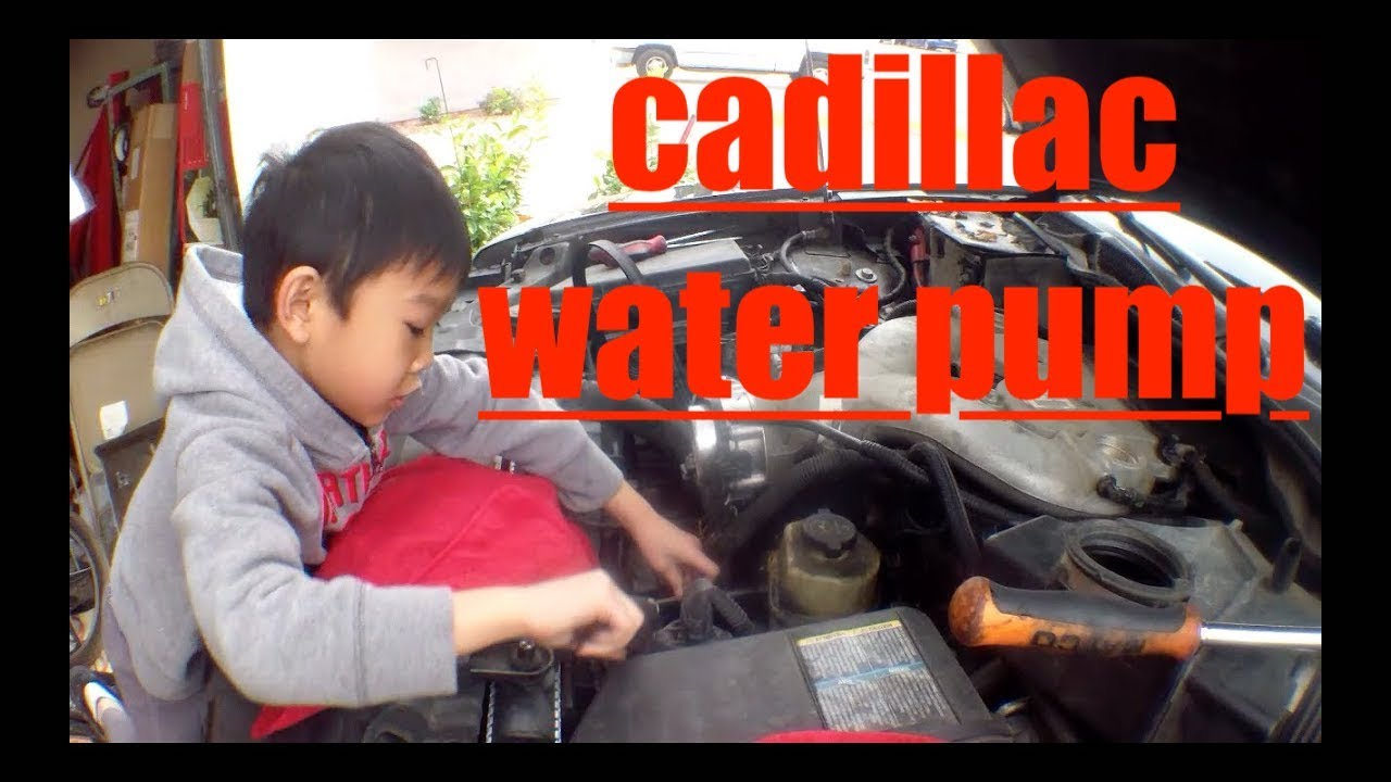 Detailed Water Pump Replacement Cadillac Cts Youtube