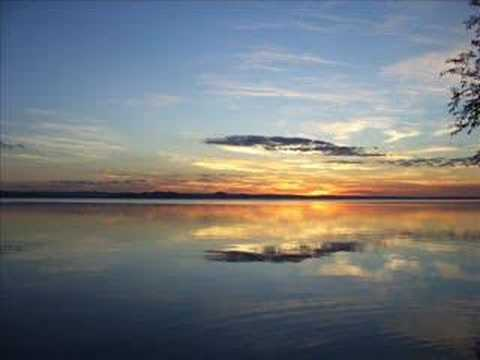 Sunsets over Lake Ypacarai San Bernardino, Paraguay