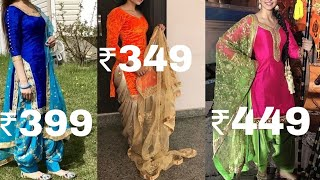 buy Punjabi suit at very cheap rates/retail prices/party wear salwar suit at lowest price