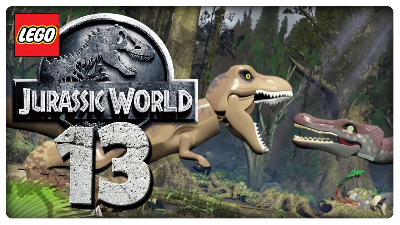 Let\'s Play LEGO JURASSIC WORLD Part 13: Kirbys in Jurassic Park 3 ...