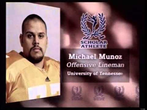 2004 Campbell Trophy Winner Michael Munoz (Tennessee) - Highlights