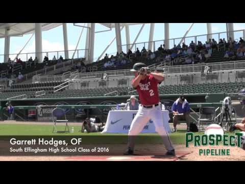 Garrett Hodges Prospect Video, OF, South Effingham High School Class of 2016