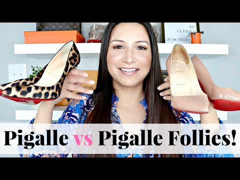 CHRISTIAN LOUBOUTIN -  Pigalle vs Pigalle Follies | LuxMommy