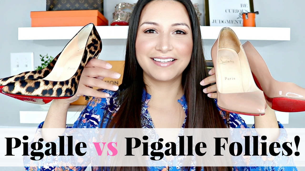 new style a6556 c51fa CHRISTIAN LOUBOUTIN - Pigalle vs Pigalle Follies | LuxMommy