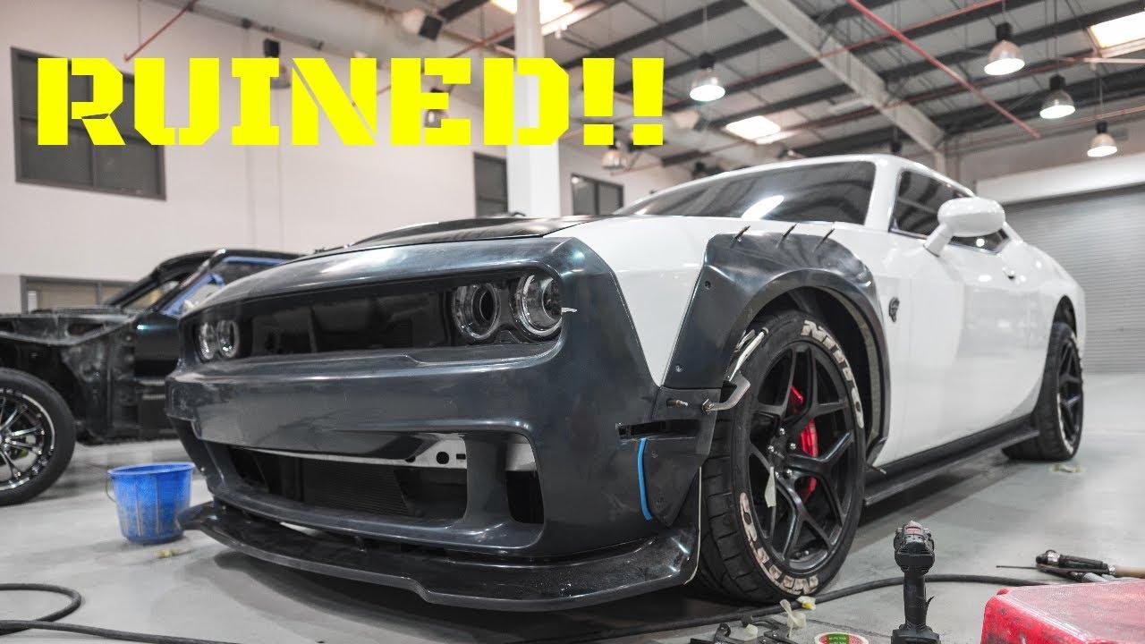 2016 Dodge Challenger Hellcat Widebody Build