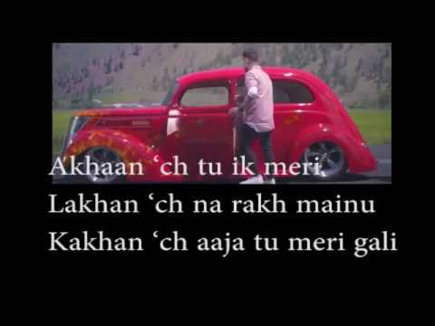 AKHIL RUKH SONG LYRICS | AKHIL | BOB | Official Song | LYRICAL VIDEO | NEW SONG 2017