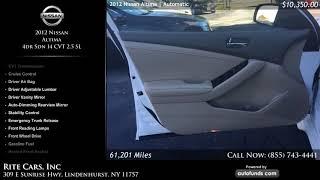 Used 2012 Nissan Altima | Rite Cars, Inc, Lindenhurst, NY