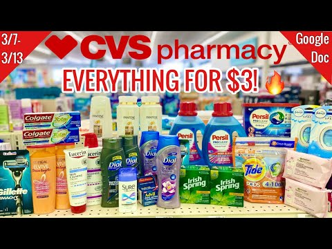 CVS Free & Cheap Coupon Deals & Haul | 3/7 – 3/13 | Double Dips for the Win! 🔥$180 in Savings! 🙌🏽