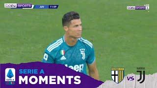 Serie A 19/20 Moments: Cristiano Ronaldo's Individual Highlights Parma vs Juventus