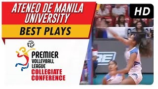 Ponggay Gaston unleashes a vicious spike on JRU | PVL | Best Plays