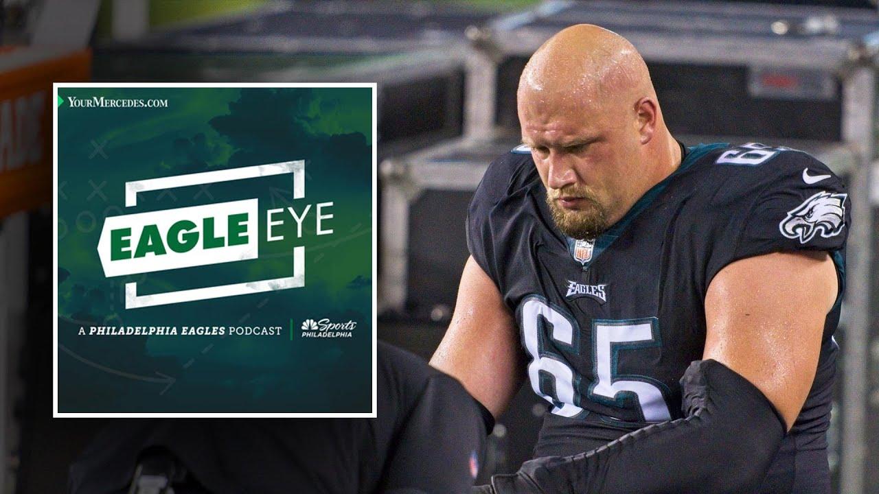 Lane Johnson out for the year | Eagle Eye Podcast | NBC Sports Philadelphia
