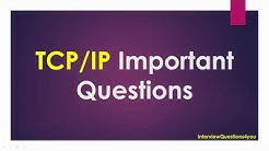 TCP/IP Important Questions ( Frequently asked TCP/IP Questions in Interviews )
