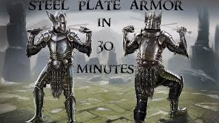 Skyrim - How To Get Steel Plate Armor within 30 Minutes of starting a new game