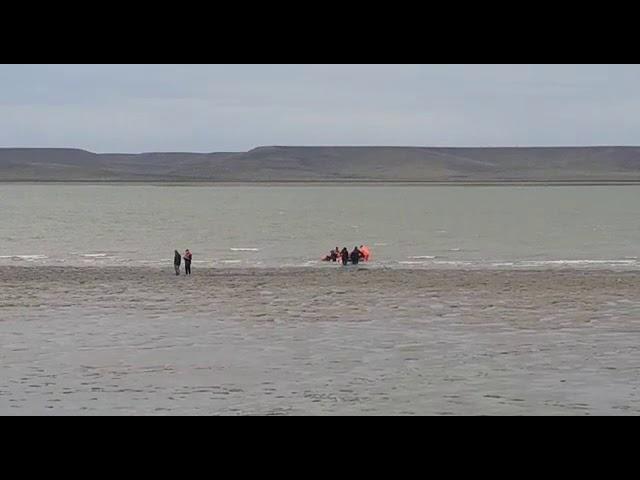 Encontraron el cuerpo del joven que se ahogó en la ría