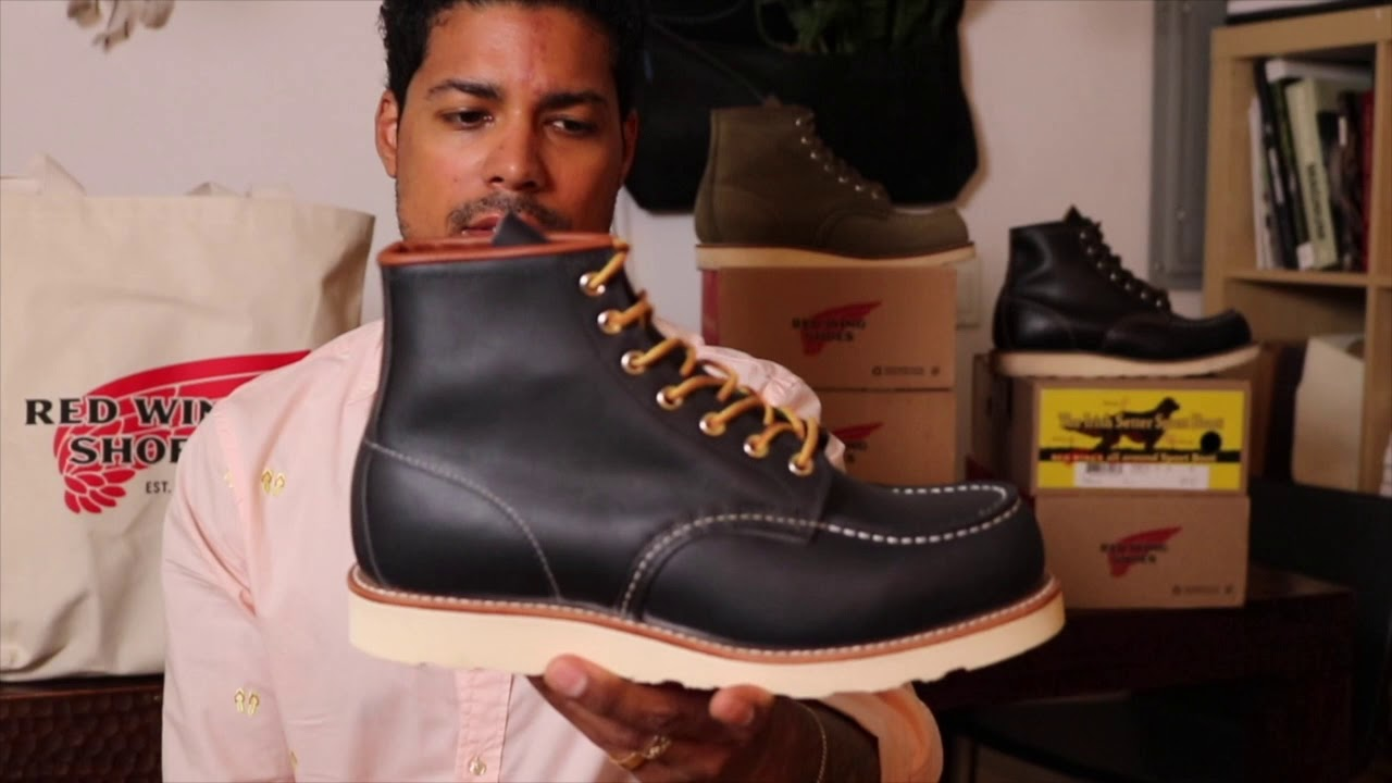 Red Wing 8859 Moc Toe Navy Portage