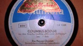 Columbus Boogie - Erwin Lehn, Hansen-Quartett (1955)