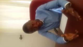 Collins The President - Rupiah Bnda reacts to Zambia vs Guinea Draw
