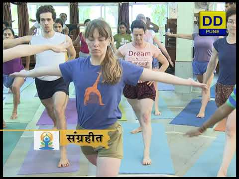 Yoga Day Special On Iyengar Institute