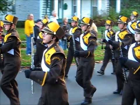Titusville High School Marching Band Homecoming Parade 2017