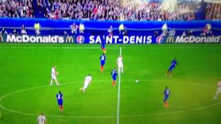 EM 2016 Frankreich Island die Tore