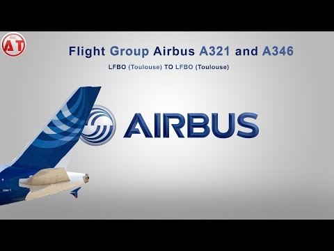Flight Simulator X  FLIGHT TEST   FLIGHT GROUP  en Aerosoft Airbus industrie ! - Kitsune